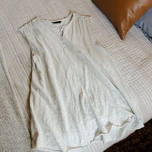Cotton knit tshirt dress